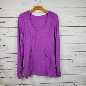 Zella Athletic Long Sleeve shirt  size M